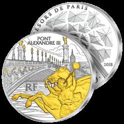 50€ Argent Pont Alexandre III