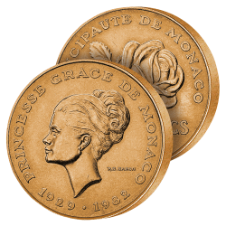 10 Francs Princesse Grace