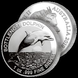 Dollar Argent Pur Dauphin 2019