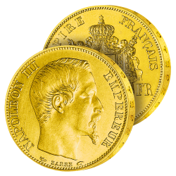50 Francs Or Napoléon III