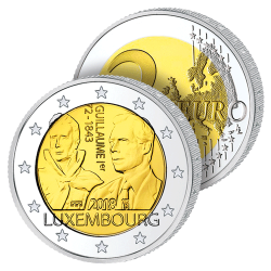 2 Euros Luxembourg 2018 –...
