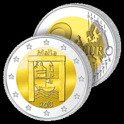2 Euros Malte 2018 –...