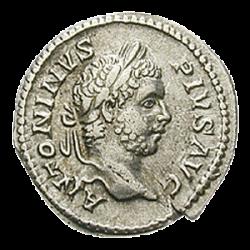 Denier de l'Empereur Caracalla