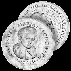 10€ Argent Marie Curie