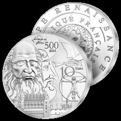 10€ Argent France Renaissance