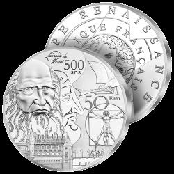 50€ Argent Géante France...