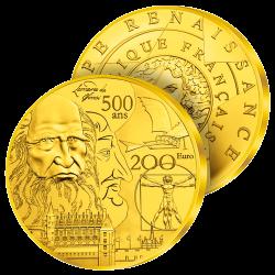 200€ Or Pur Géante France...