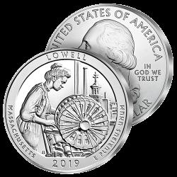 Monnaie Géante Massachusetts