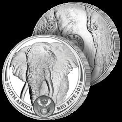 Le Grand Éléphant Argent Pur