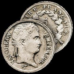 5F Argent Napoléon Empereur