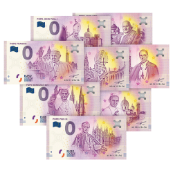 Les 8 Billets 0€ des Papes