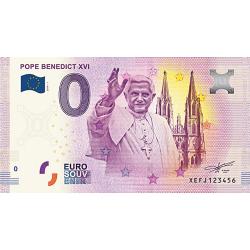 Billet 0€ Pape Benoît XVI