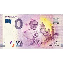 Billet 0€ Pape Paul VI