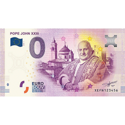 Billet 0€ Pape Jean XXIII