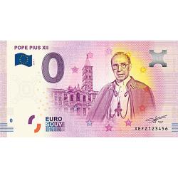 Billet 0€ Pape Pie XII