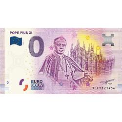 Billet 0€ Pape Pie XI