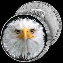 5 Dollars Argent Grand Aigle