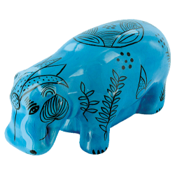 Hippopotame Bleu de...