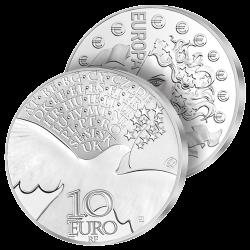 10 Euros Argent France La...