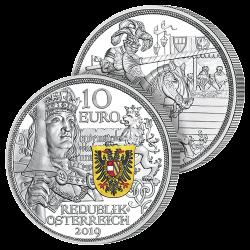 10 Euros Argent Chevalerie...