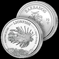 Dollar Argent Pur des Caraïbes