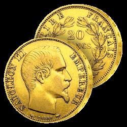 20 Francs Or Napoléon III