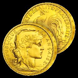 20 Francs Or Marianne et le...