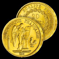 20 Francs Or Génie de la...