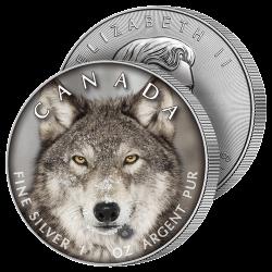 5 Dollars Argent Le Loup