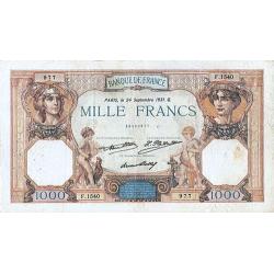 1.000 Francs Cérès &...