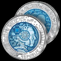 25 Euros Argent & Niobium 2019