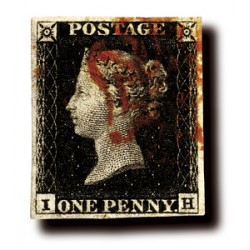 Le Penny Black type 1840