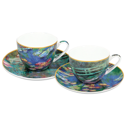 Le Duo de Tasses Claude Monet