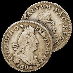 4 Sols Argent Louis XIV