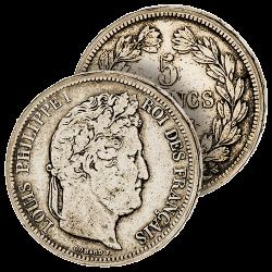 5 Francs Argent Louis-Philippe
