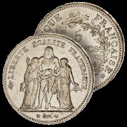 5 Francs Hercule Troisième...