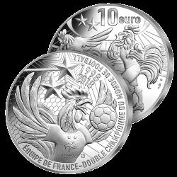 10€ Argent France Les...