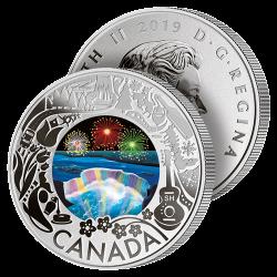 3$ Argent Chutes du Niagara