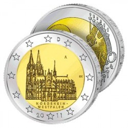 2 Euros Allemagne 2011 - Région Rhénanie-Westphalie