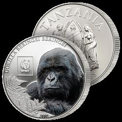 100 Shillings Gorille des...
