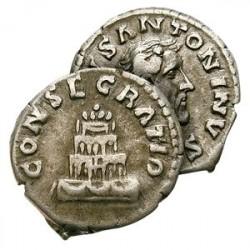 Le Denier Romain d'Argent d'Antonin le Pieux