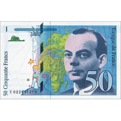 50 Francs Antoine de...