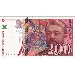 200 Francs Gustave Eiffel...