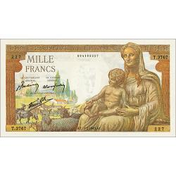 10 Francs Déesse Déméter...