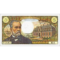5 Francs Pasteur type 1966