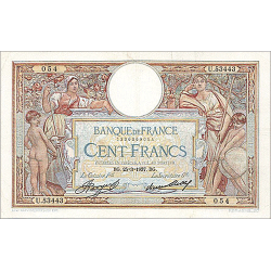 100 Francs Merson type 1906