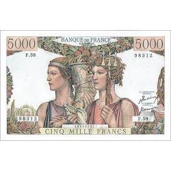 5.000 Francs Terre & Mer...