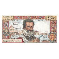 50 Nouveaux Francs Henri IV...