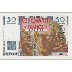 50 Francs Le Verrier type 1946