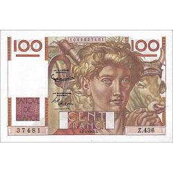 100 Francs Jeune Paysan...